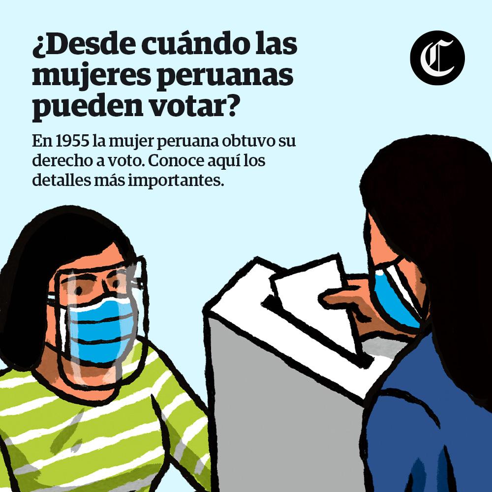 ¿Desde cuándo las mujeres peruanas pueden votar?