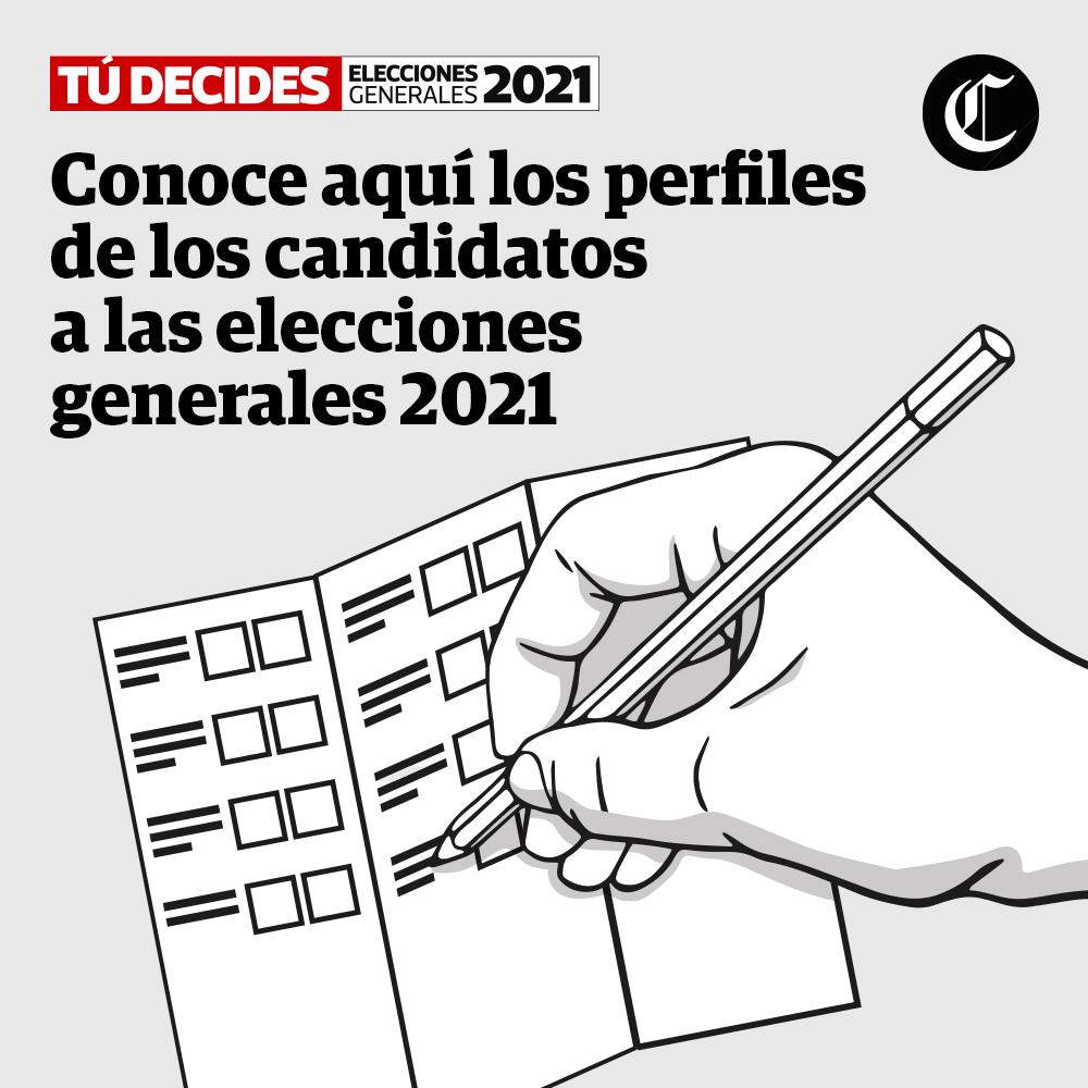 Perfiles de los candidatos | #TúDecides