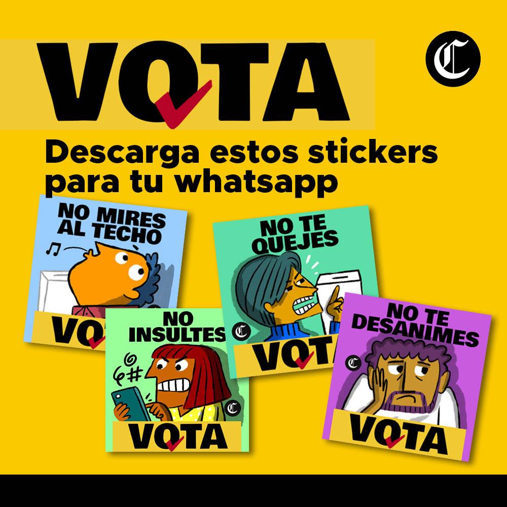 Vota Stickers