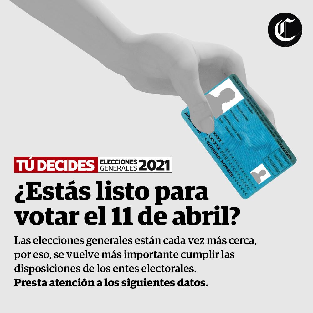 ¿Estás listo para votar?