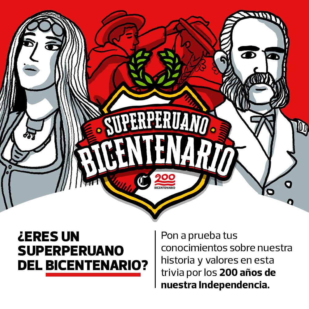 ¿Eres un superperuano del Bicentenario?