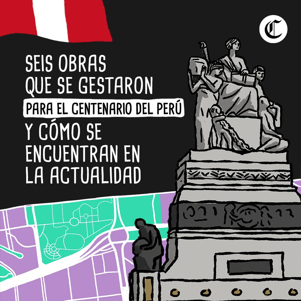 Seis obras que se gestaron para el centenario del Perú