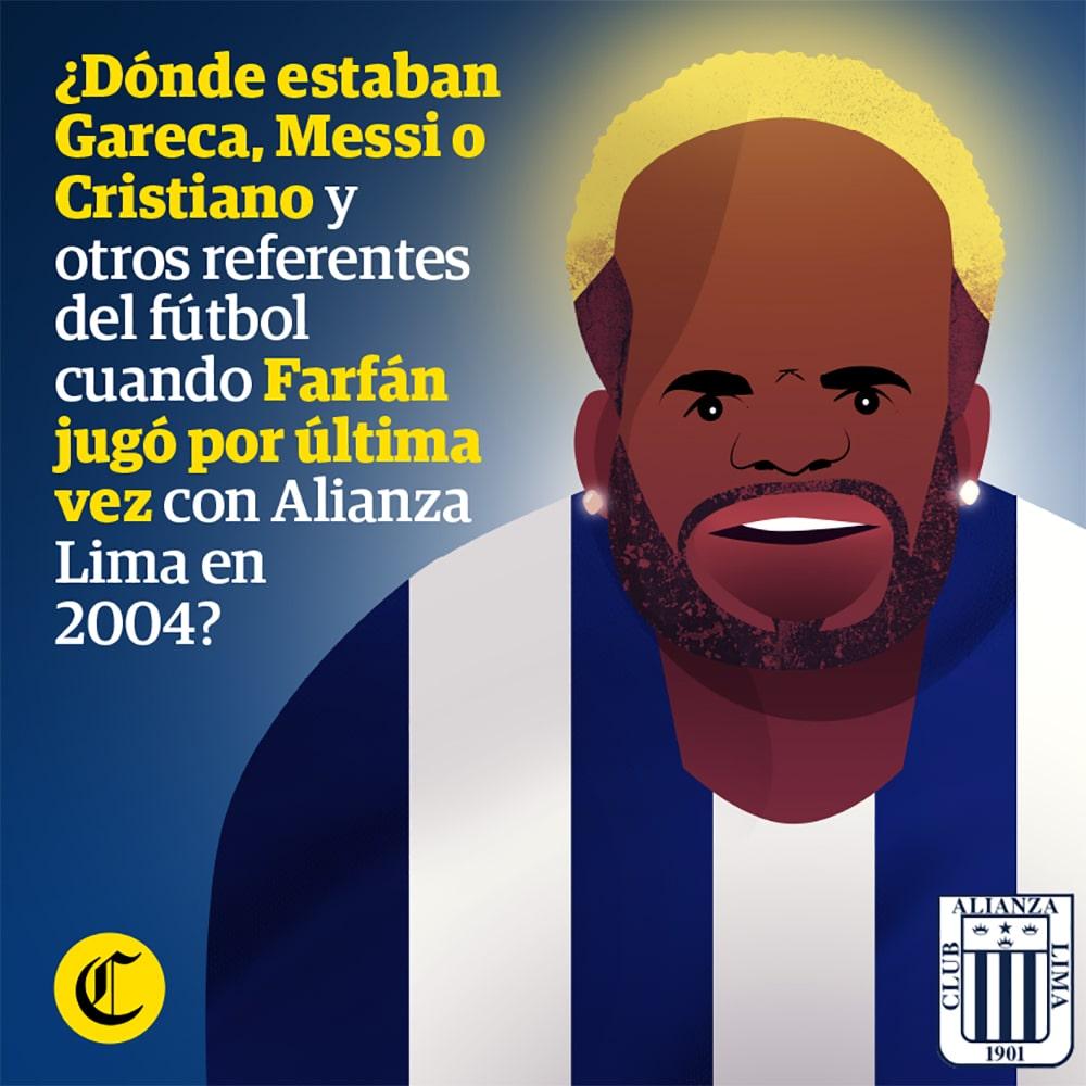 Farfán última vez Alianza Lima el 2004