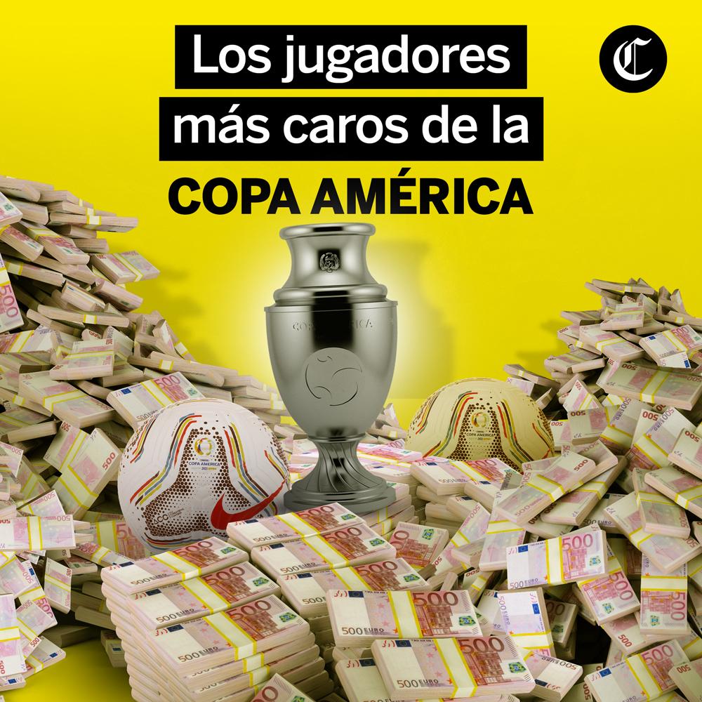 Jugadores más caros de Copa América 2021