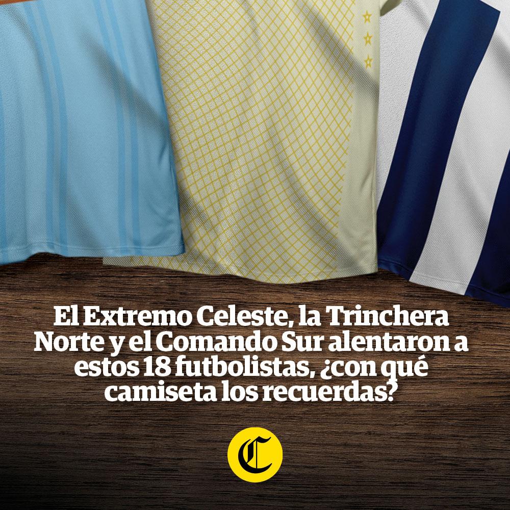 18 futbolistas tricolores