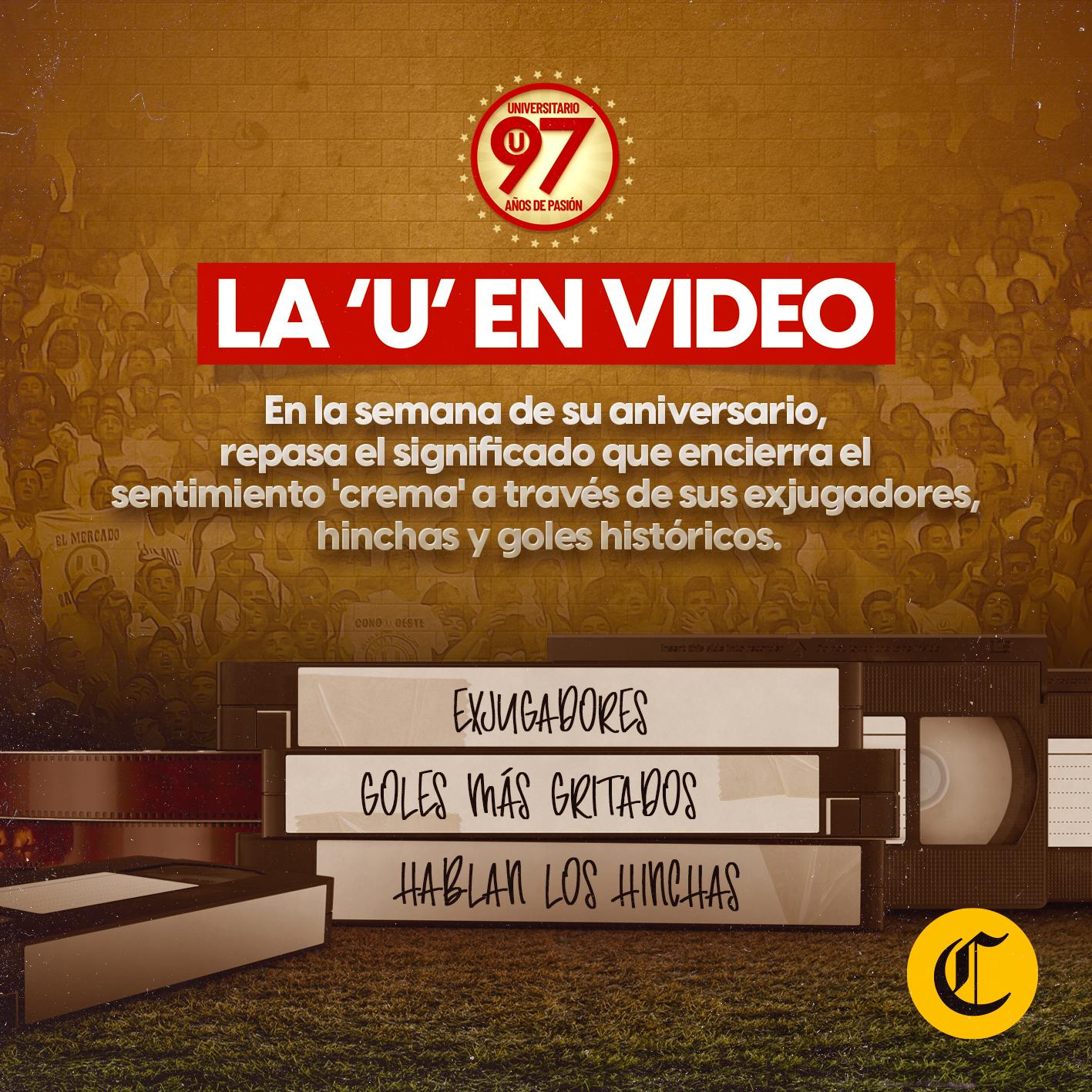La historia de Universitario en videos