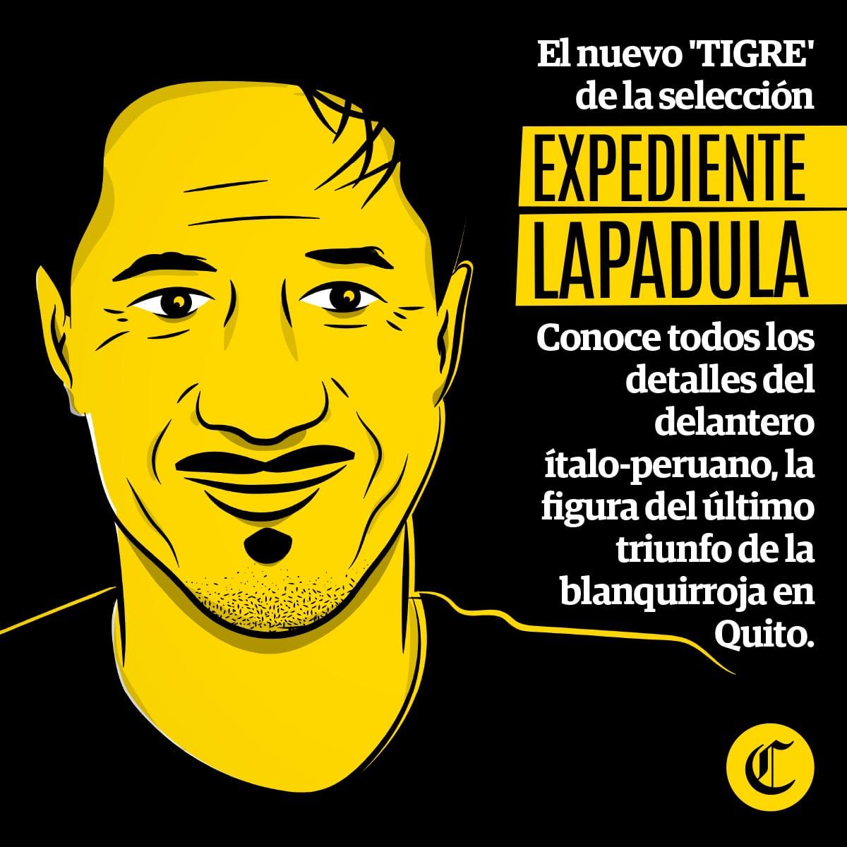 Gianluca Lapadula, el nuevo tigre de la selección peruana