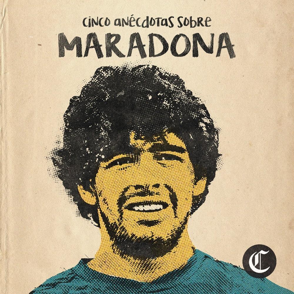 Las anécdotas de Diego Maradona