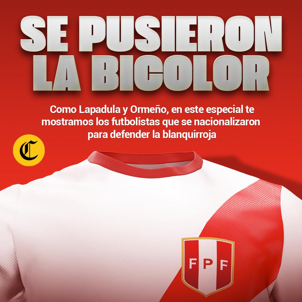 La Legión extranjera - Selección peruana