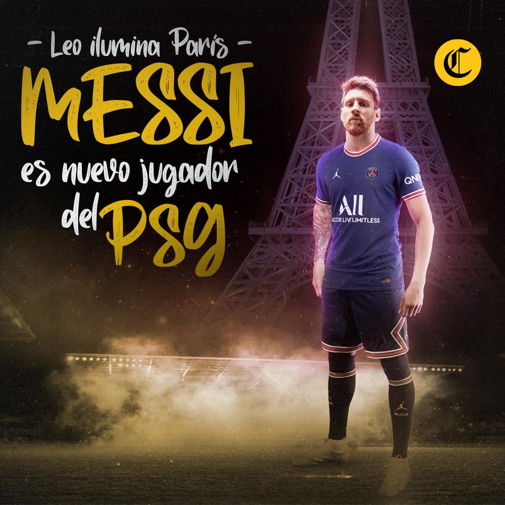 Leonel Messi nuevo jugador de PSG