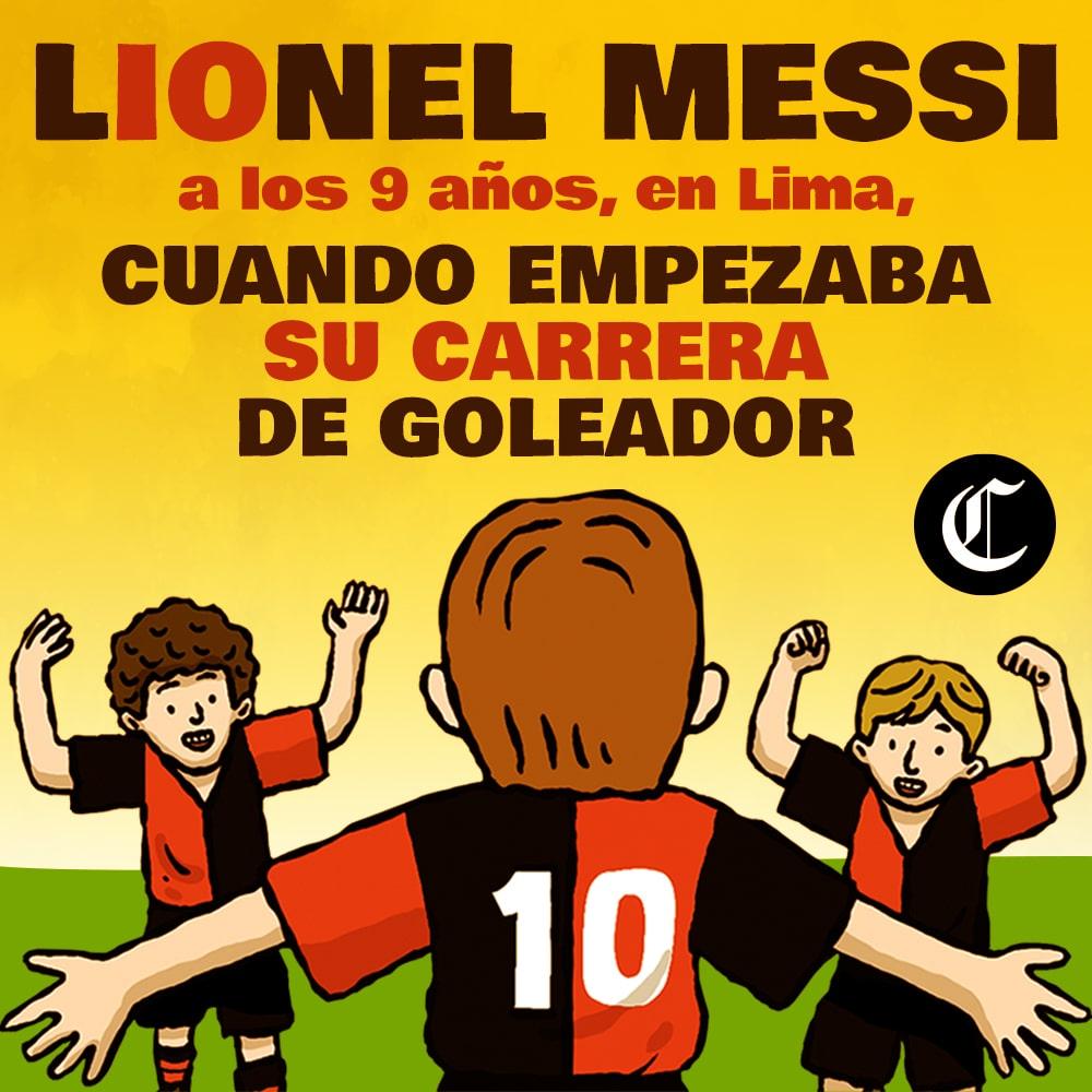 Lionel Messi: un Gol al Cielo