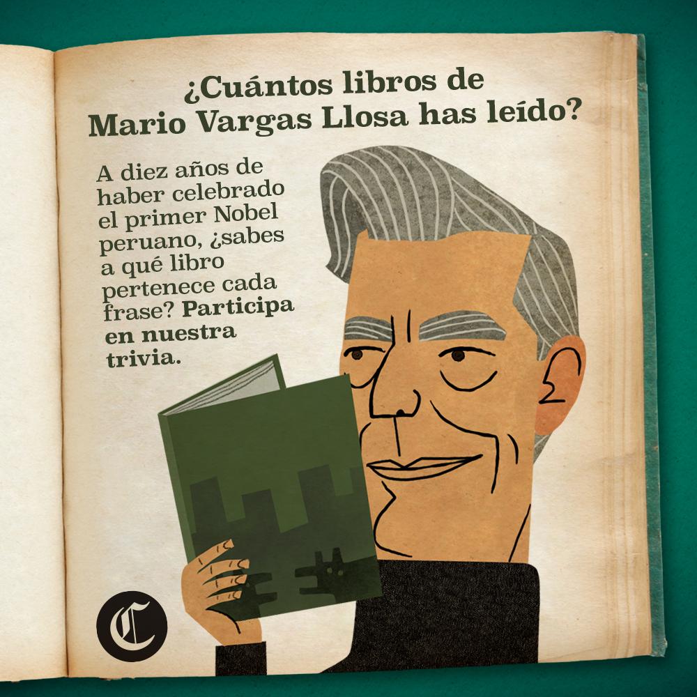 Mario Vargas Llosa: ¿qué tanto has leído del escritor peruano?