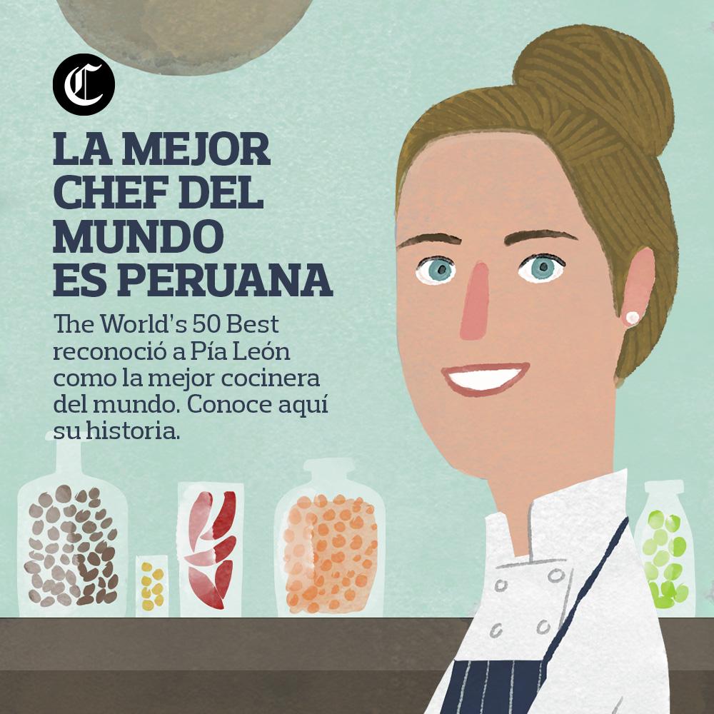 La mejor chef del mundo es peruana