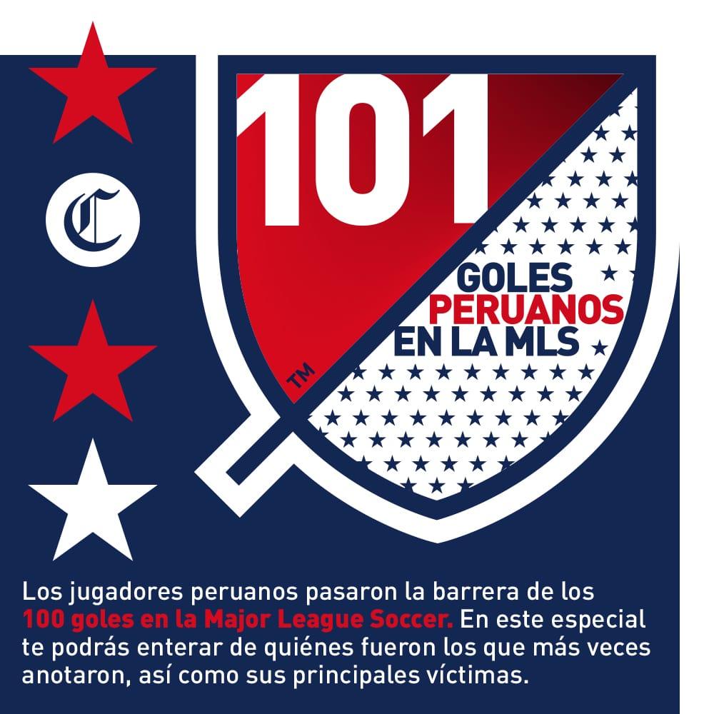 101 Goles Peruanos en MLS