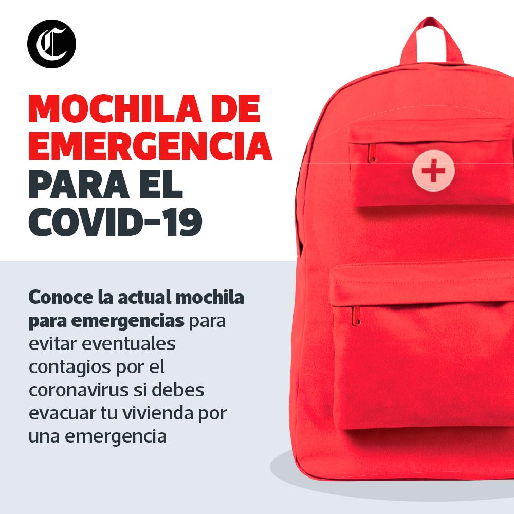 Mochila de emergencia COVID 19
