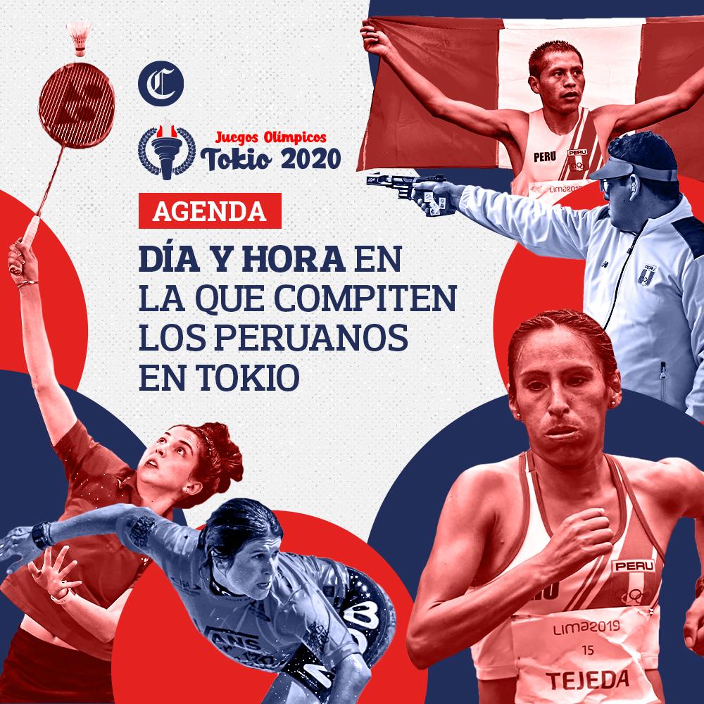Perú en Tokio 2020: fecha y hora en la que compiten nuestros deportistas