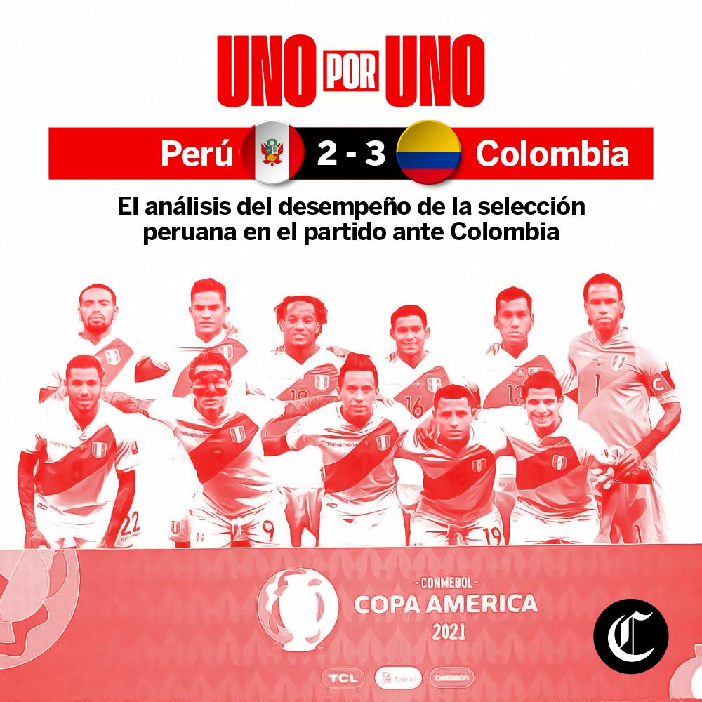 Uno x Uno: Perú vs Colombia por Copa América 2021