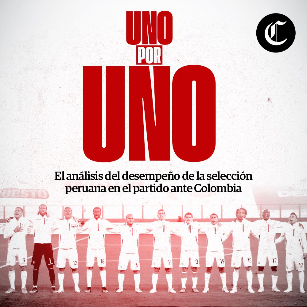Uno x Uno: Perú vs Colombia por Eliminatorias Qatar 2022