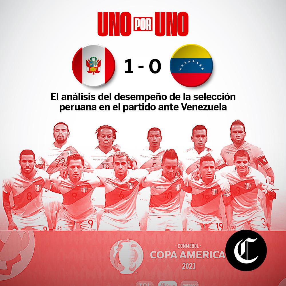 Perú vs. Venezuela: Así vimos a los jugadores del partido por la Copa América 2021