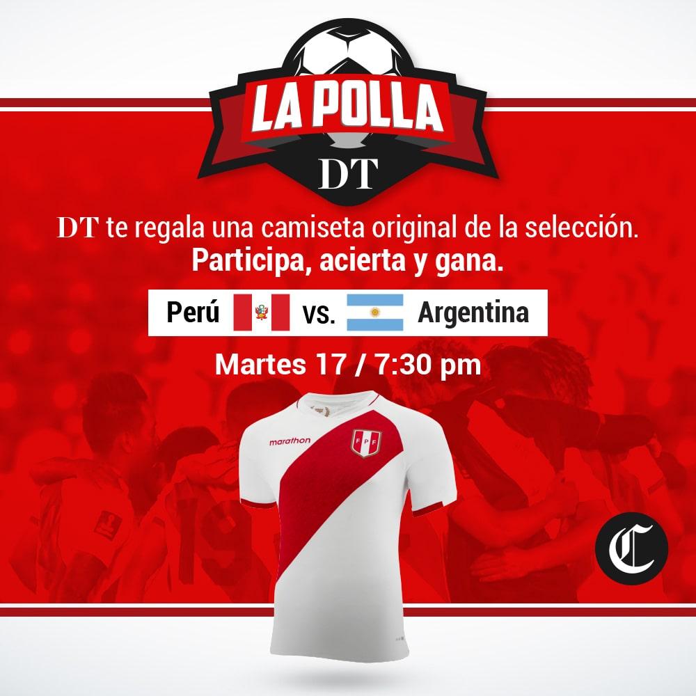 Polla Perú Vs Argentina