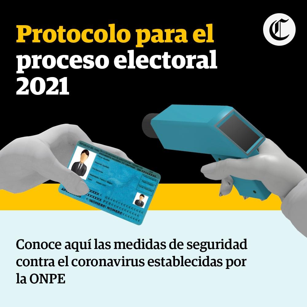 Protocolo para las Elecciones Perú 2021