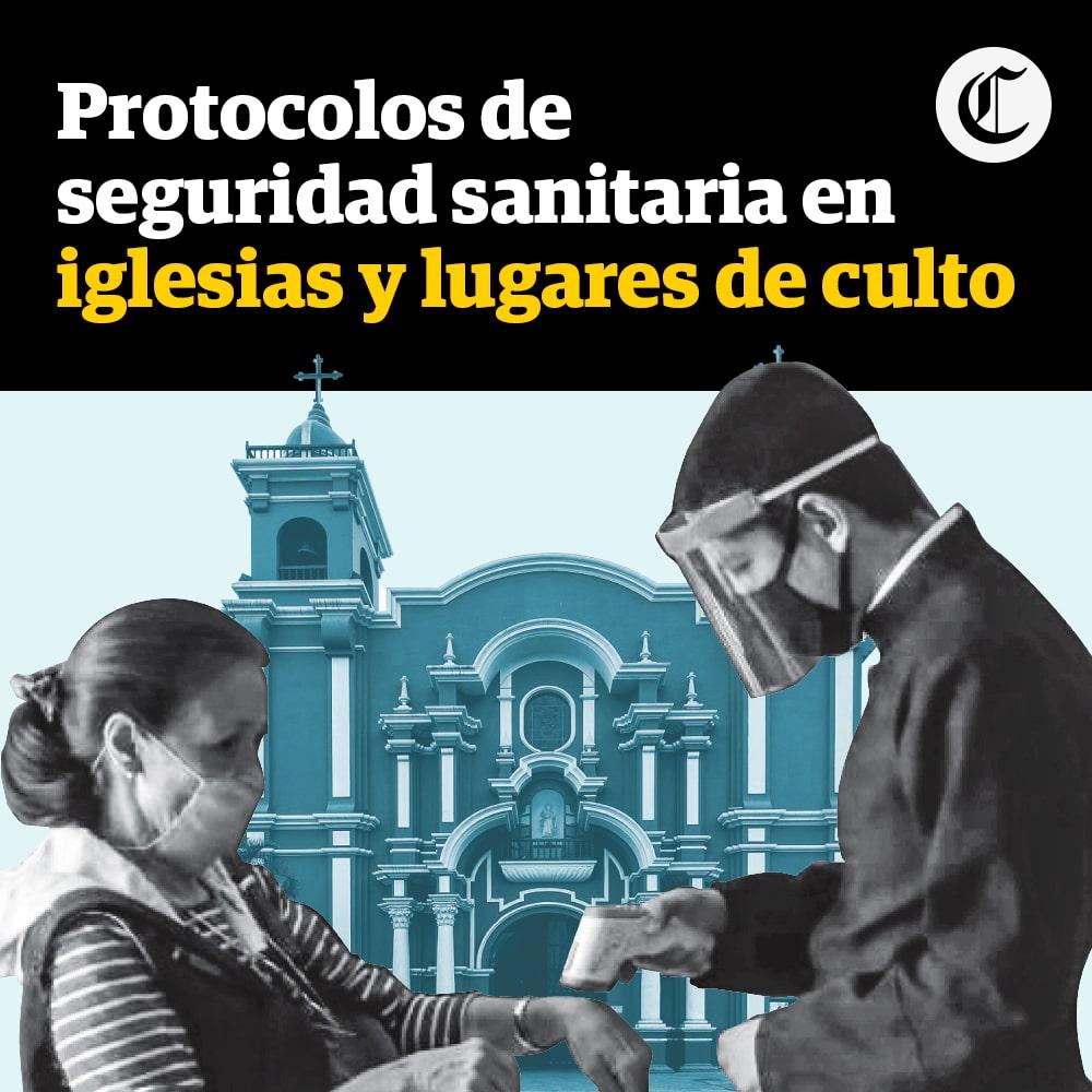 Protocolo para iglesias y lugares de culto