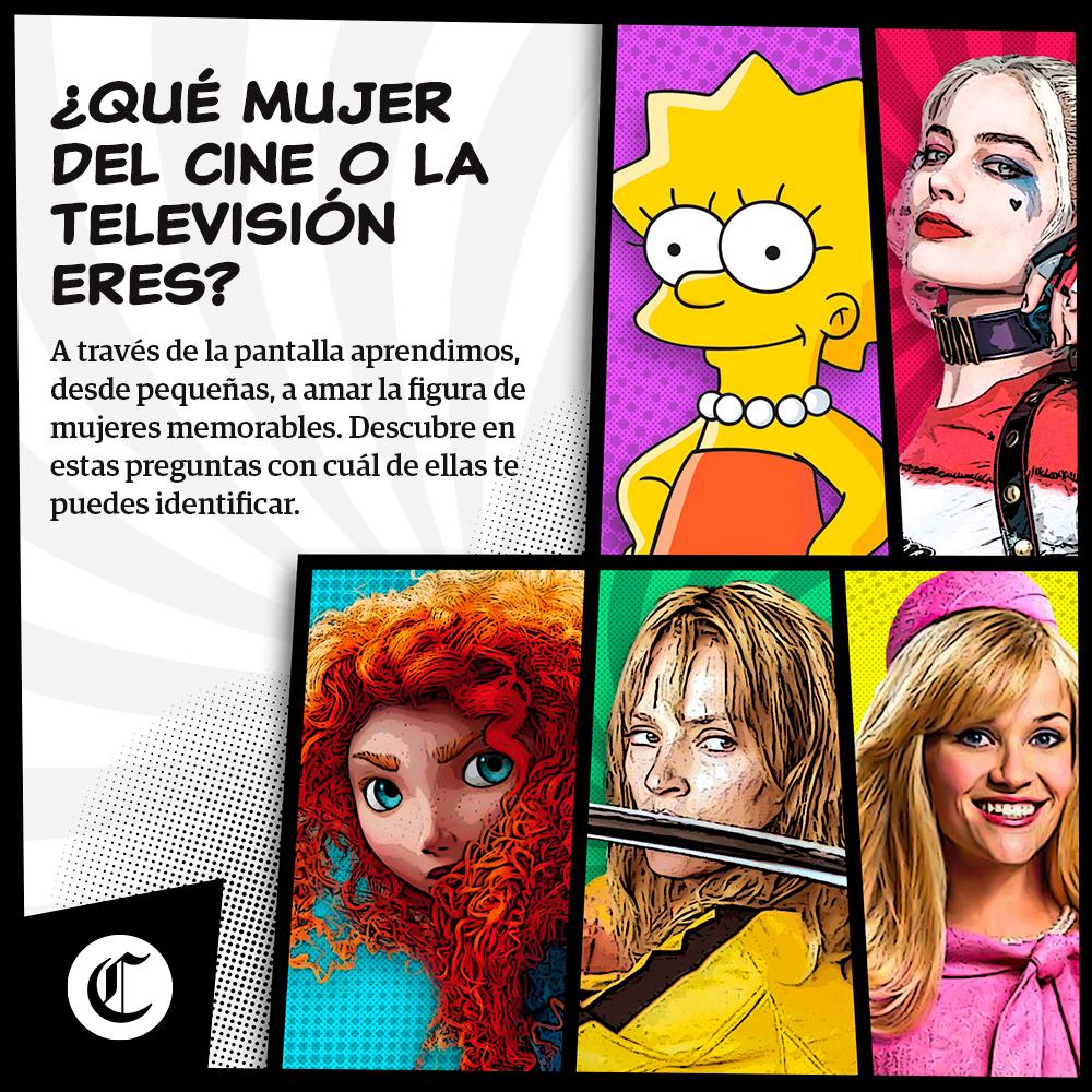 ¿Qué mujer del cine o televisión eres?