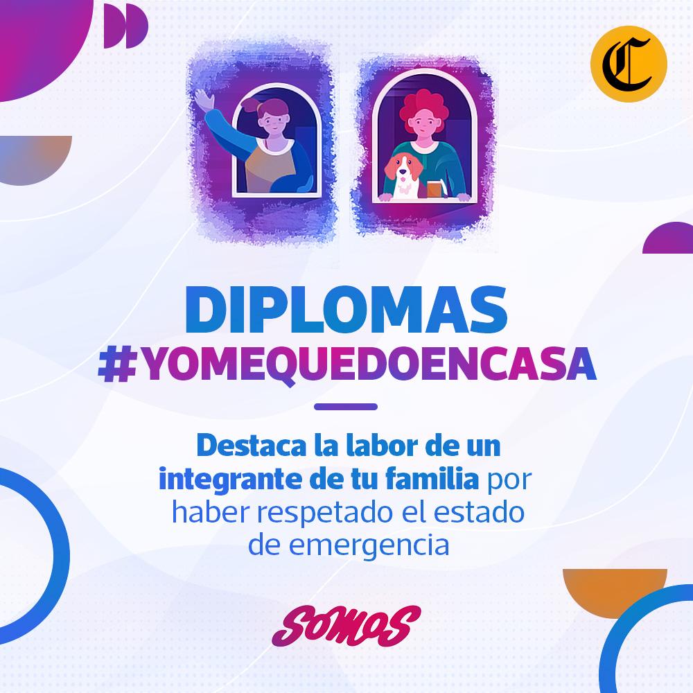 Diplomas #YoMeQuedoEnCasa