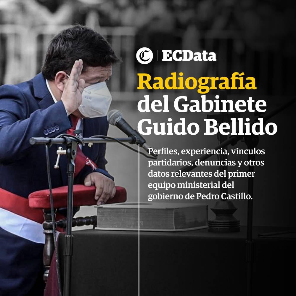 Radiografía del Gabinete Guido Bellido