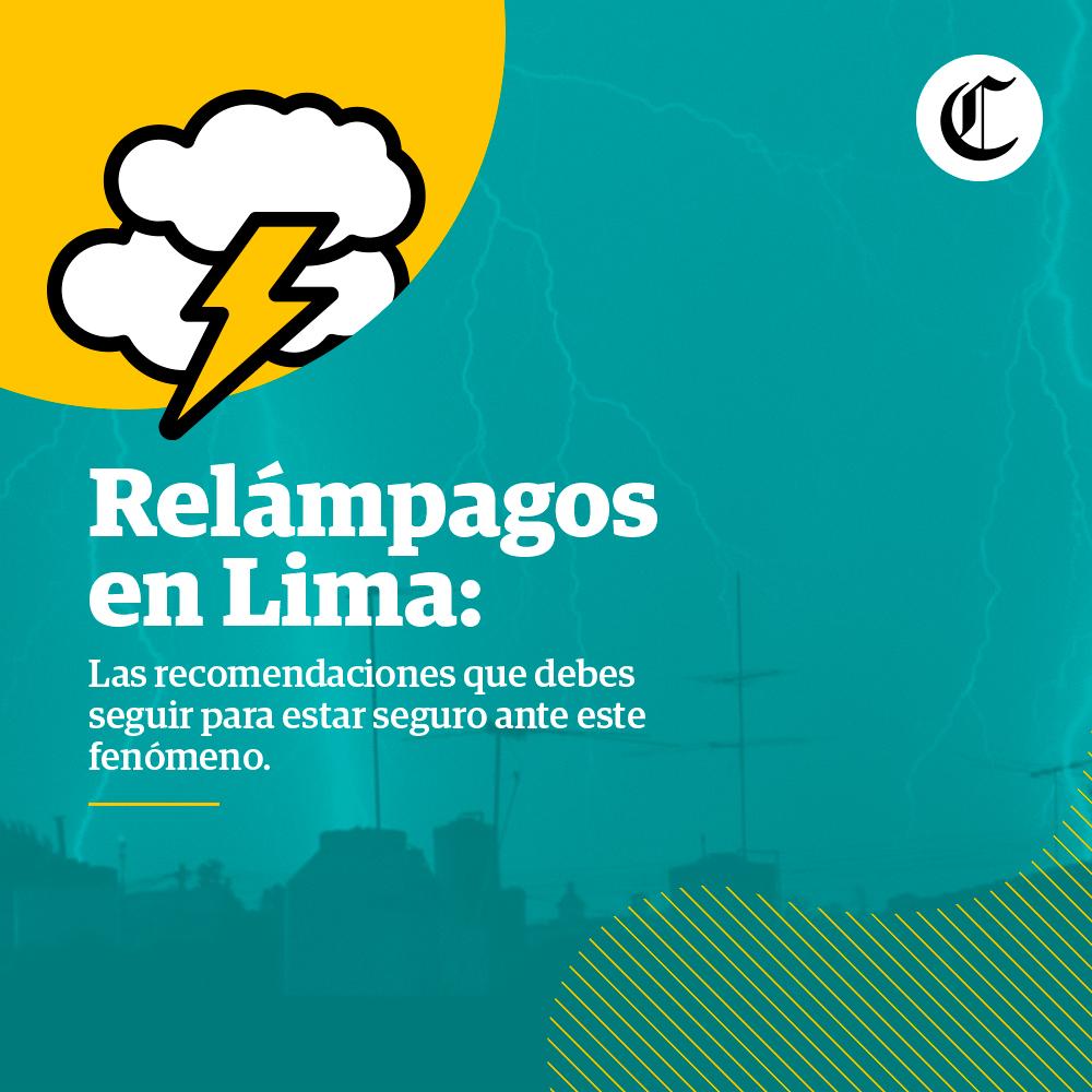 Relámpagos en Lima