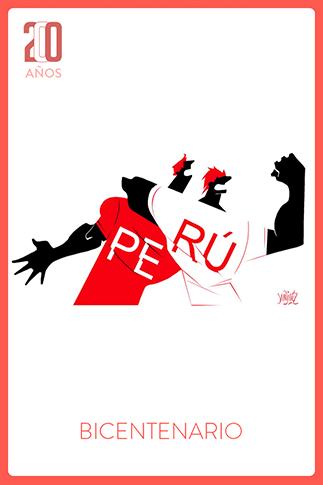 Saluda a un peruano por el Bicentenario del Perú
