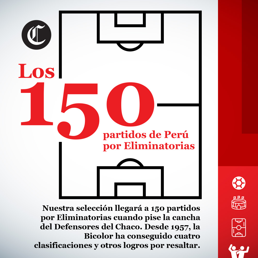 Selección Peruana 150 partidos