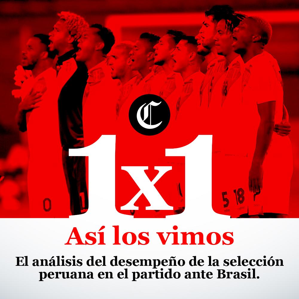 Análisis Perú vs Brasil