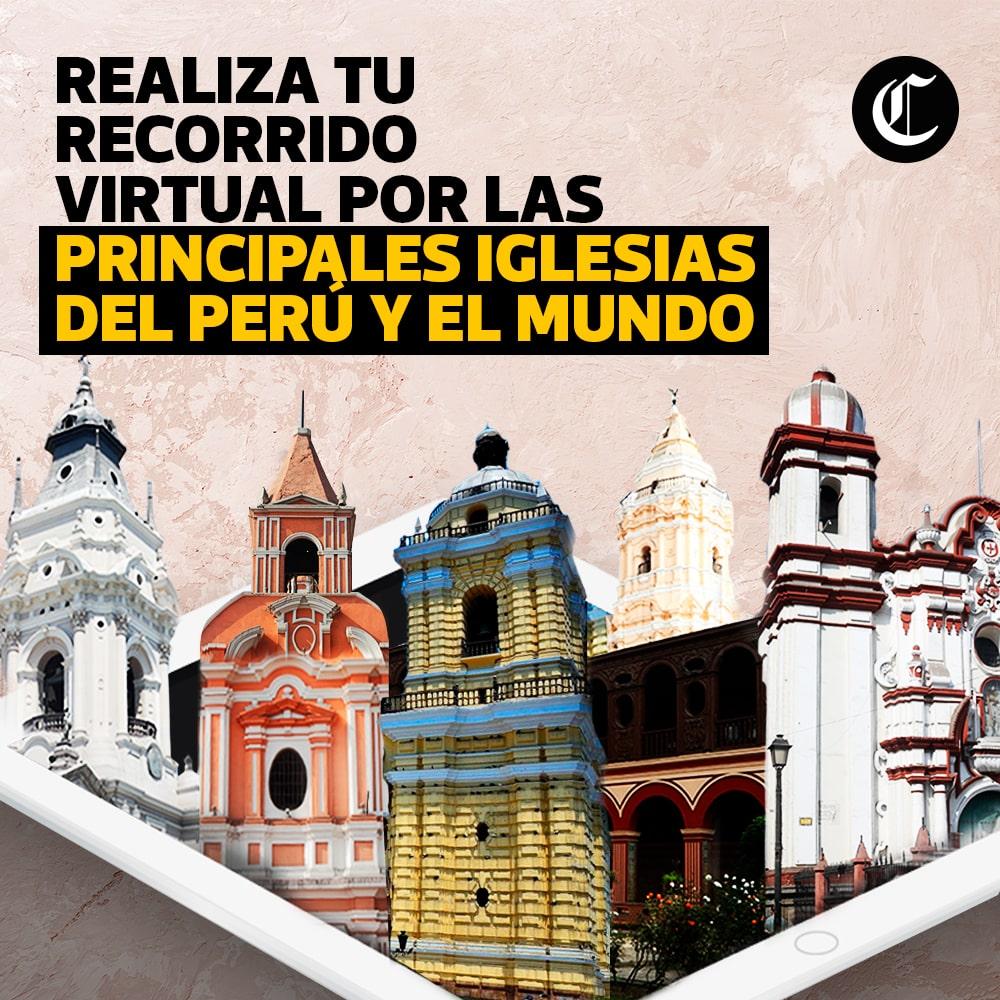 Recorrido virtual por las principales iglesias en Semana Santa