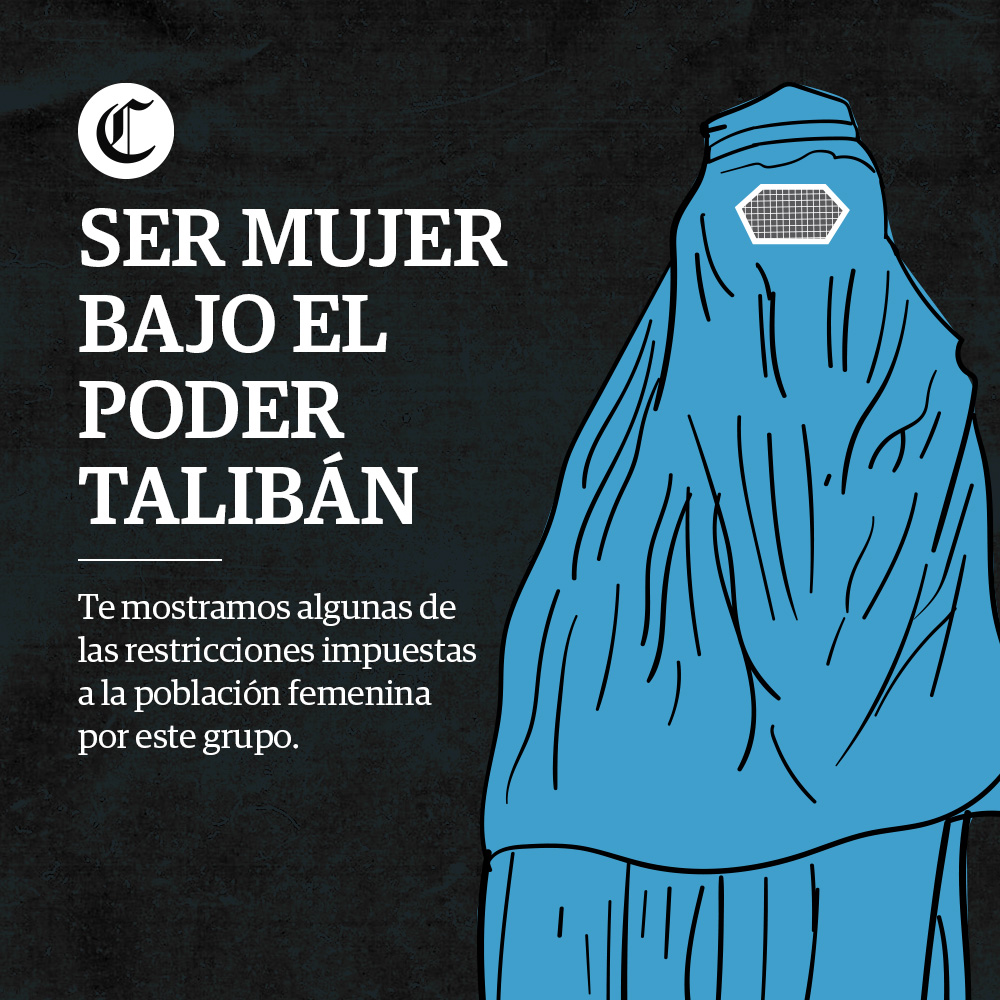 Ser mujer bajo el poder Talibán