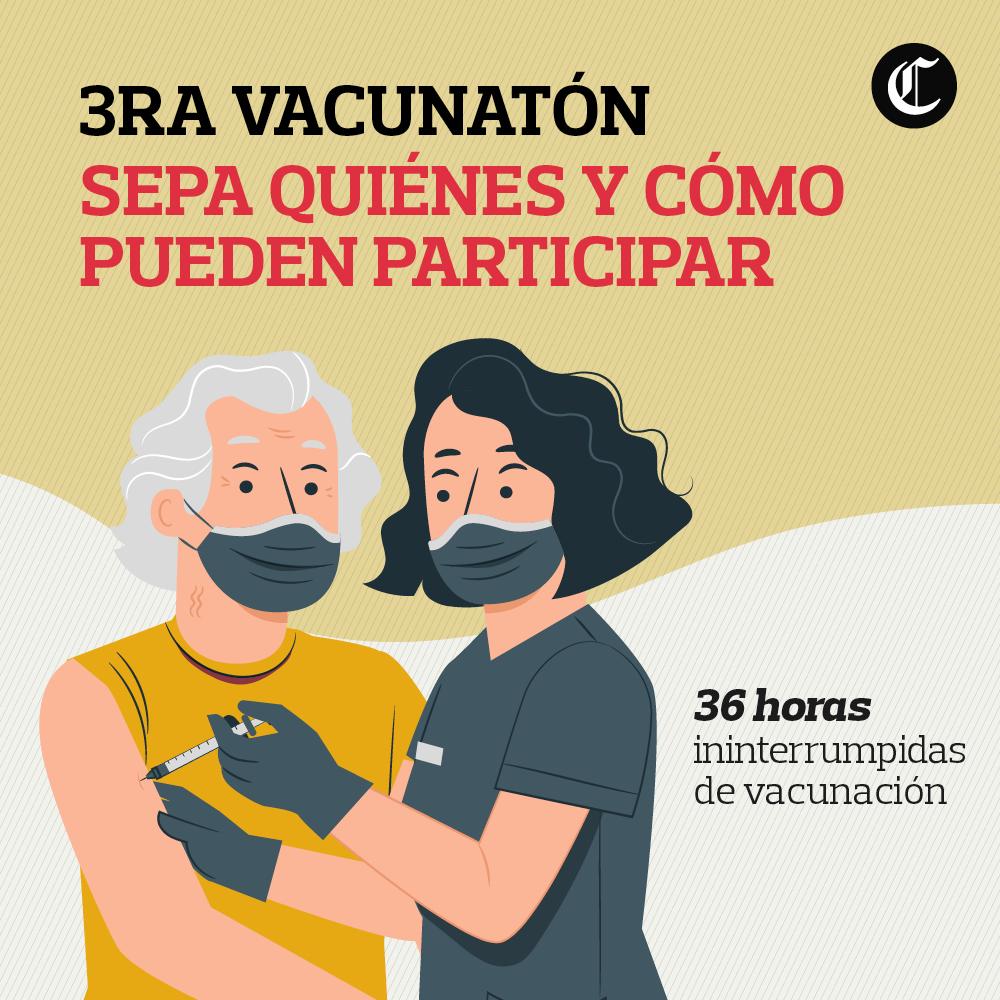 Tercera vacunatón contra COVID-19: quiénes, cuándo y cómo pueden participar