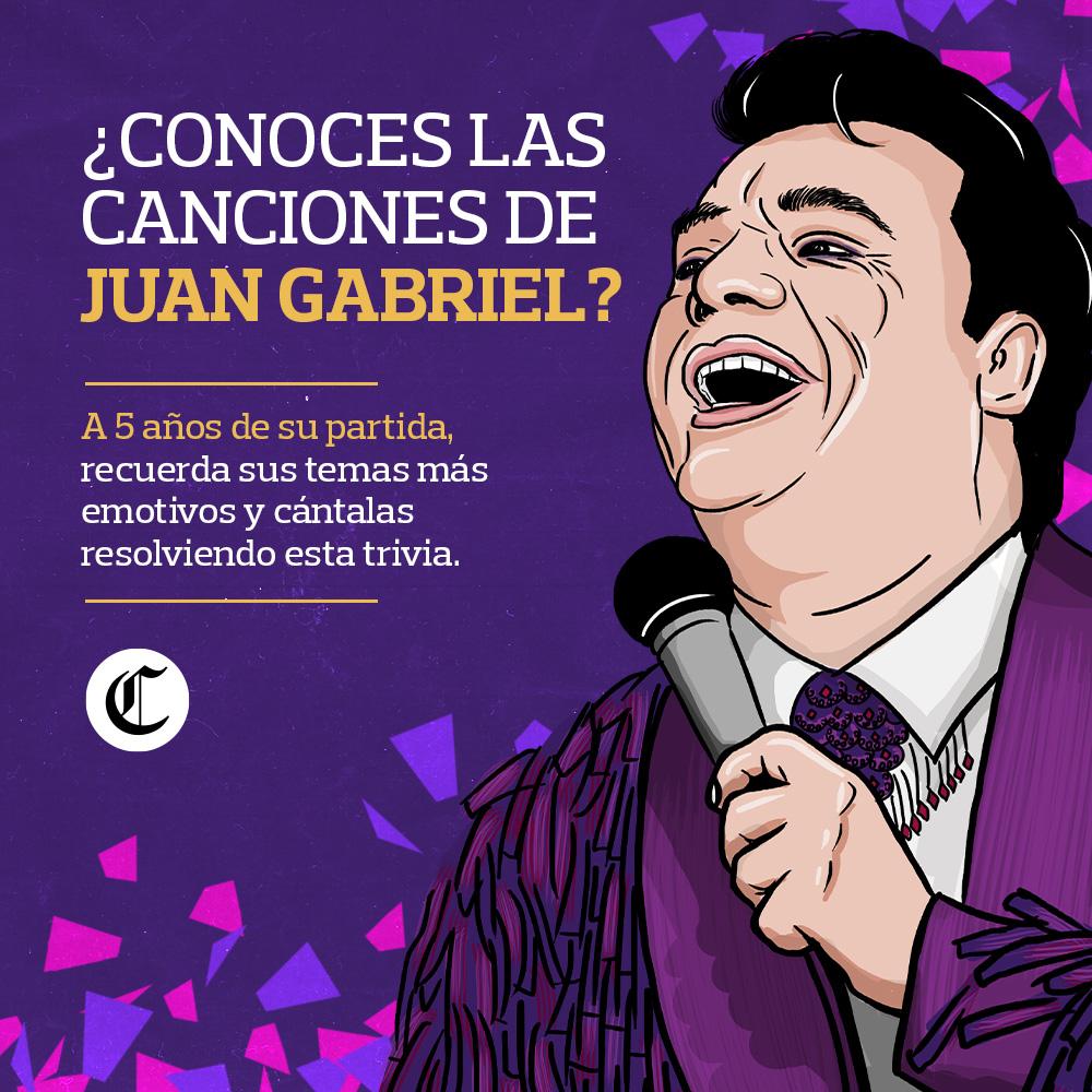 TRIVIA de Juan Gabriel ´El Divo de Juárez´