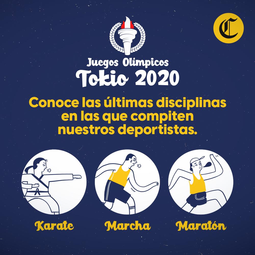 Últimas disciplinas en las que participan los peruanos en Tokio 2020