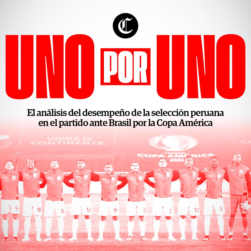 Uno x Uno: Perú vs Brasil por Copa América 2021