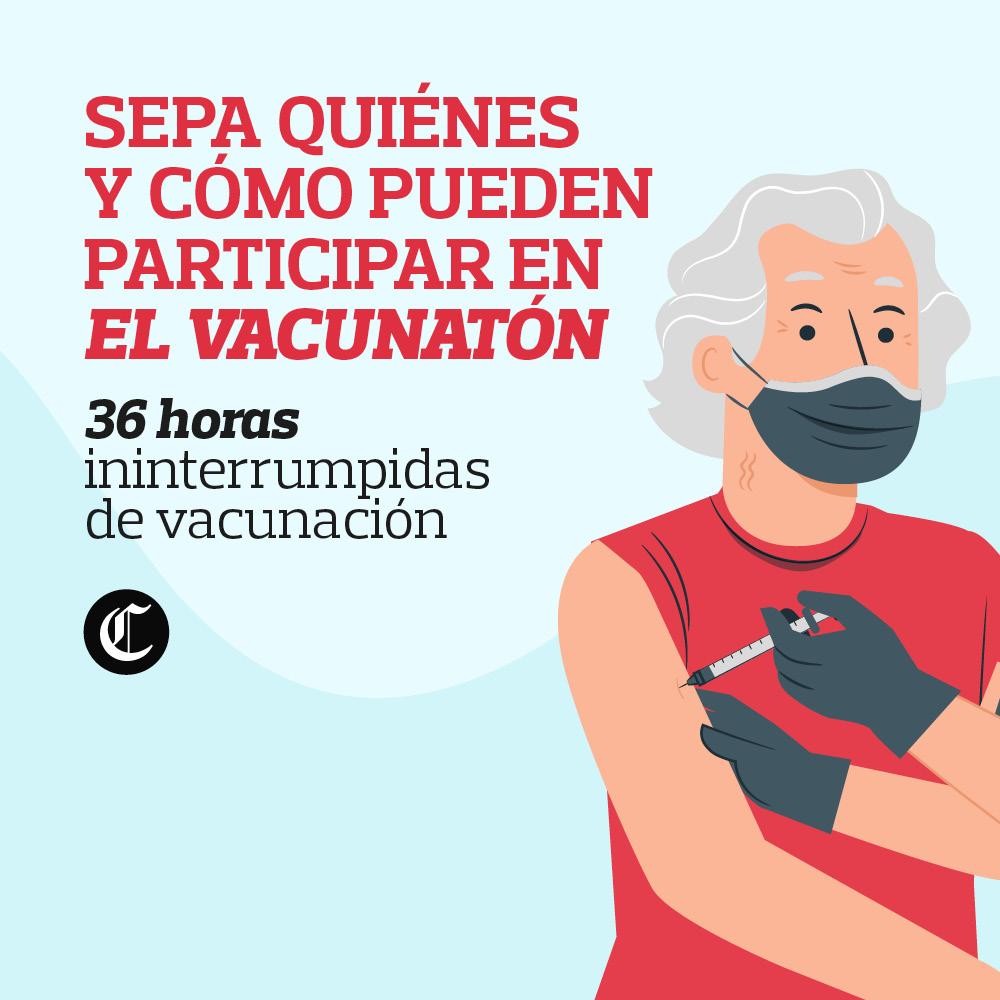Vacunatón contra COVID-19: quiénes, cuándo y cómo pueden participar